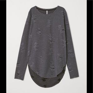 H&M Trashed Top